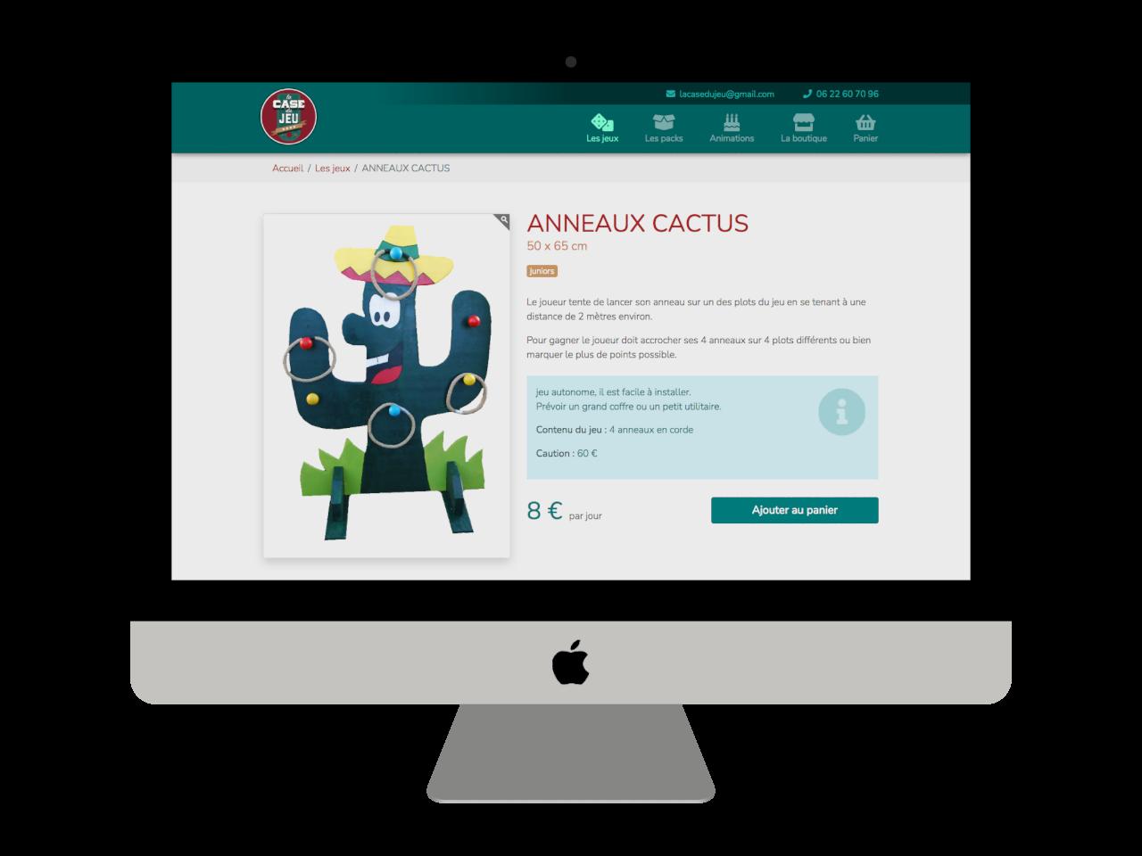 Micraux, nos clients sont nos meilleurs ambassadeurs : vue adaptative sur ordinateur à grand écran pour La Case Du Jeu